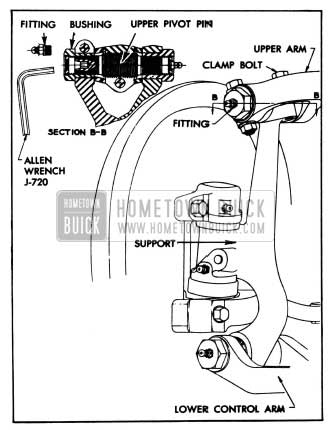 1955 Buick Chassis Suspension Service & Repair