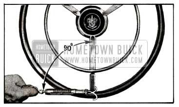 1955 Buick Manual Steering and Steering Linkage