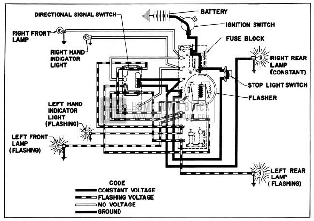 wiring diagram 1955 buick