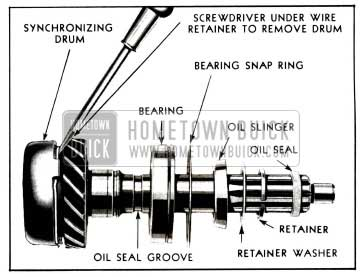 1955 Buick Synchromesh Transmission and Universal Joint