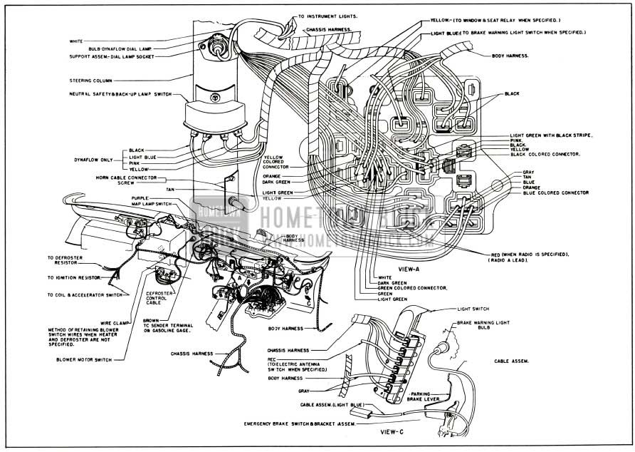 Wiring Diagram Color Codes 1956 Buick Electrical Systems Maintenance