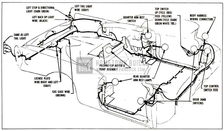 1965 Buick Skylark Wiring Diagram Color. Buick. Auto
