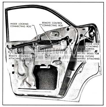 1958 Buick Doors and Center Pillar (Series 40-60)