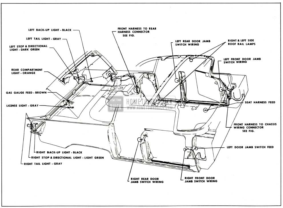 Wire Diagram For A 1963 Buick Riviera. Buick. Auto Wiring