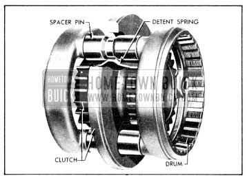 1956 Buick Synchromesh Transmission and Universal Joint