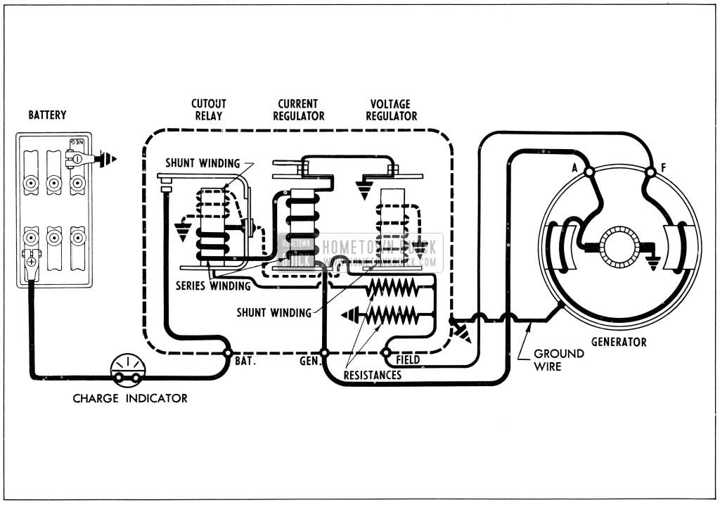 Chrysler External Voltage Regulator Wiring Diagram