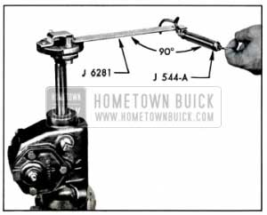 1957 Buick Checking Thrust Bearing or Lash Adjustment with