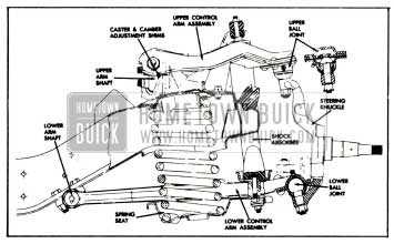 1958 Buick Chassis Suspension Service and Adjustment
