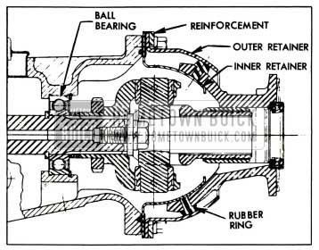 1958 Buick Variable Pitch Dynaflow Transmission Removal