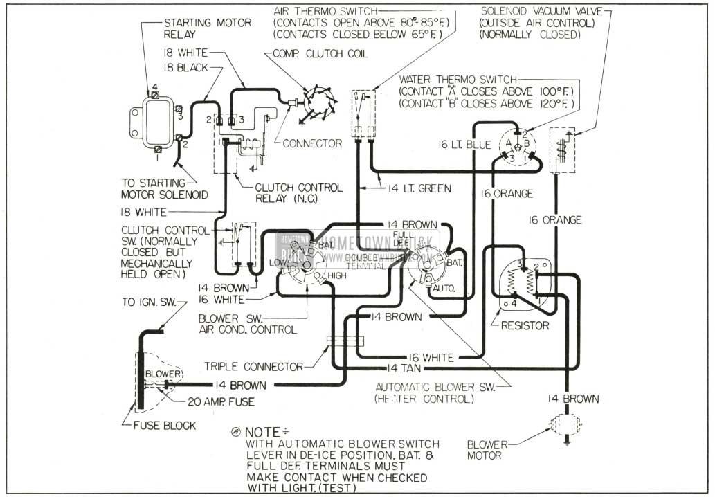1959 buick wiring diagrams - hometown buick - 65 olds wiring diagram