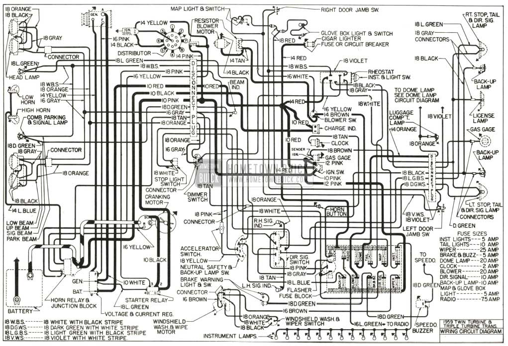 1958 vw van wiring diagram