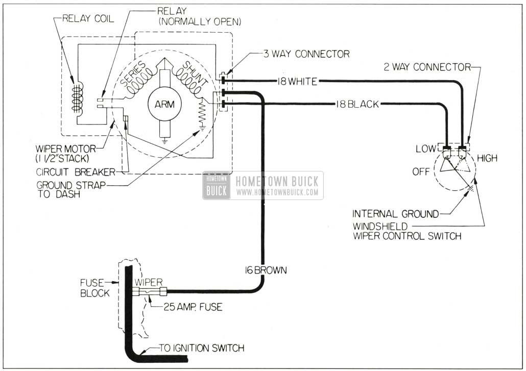 windshield wiper schematic diagram