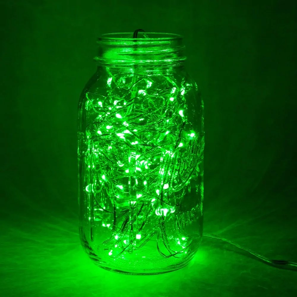 6 Foot Battery Operated Led Fairy Lights Waterproof
