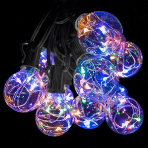 Multicolor G40 fairy lights