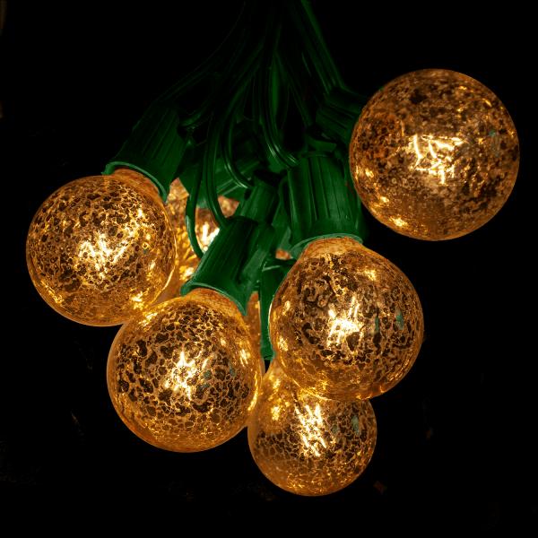 G50 mercury bulbs on green wire