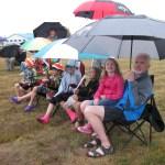 Tweed outdoor party a hit, despite the rain