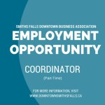 Employment opportunity with Smiths Falls DBA