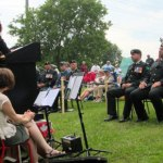 Royal Sappers and Miners honoured at memorial in Newboro