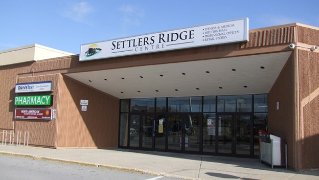 The County Fair Mall's new name Steelers Ridge Centre.