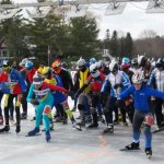Annual Skate the Lake draws in international skaters