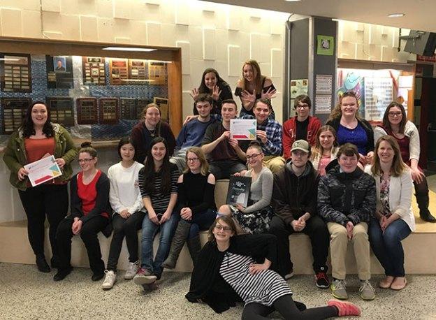Carleton Place drama team