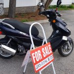 FOR SALE: 150cc Automatic transmission motor scooter for sale