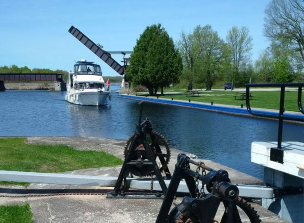 Rideau Canal in Smiths Falls