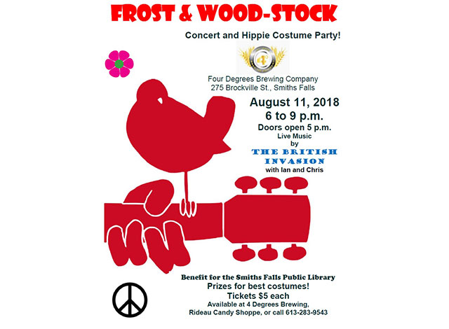 Frost and woodstock poster