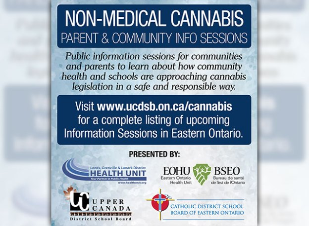 Non-medical Cannabis parent & community info sessions