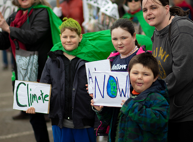 Climate Change protest