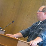 Campbell presents truckers' perspective on street redevelopment to council
