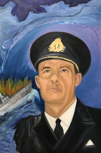 Naval War Hero Harry DeWolf by Lisa Nolan