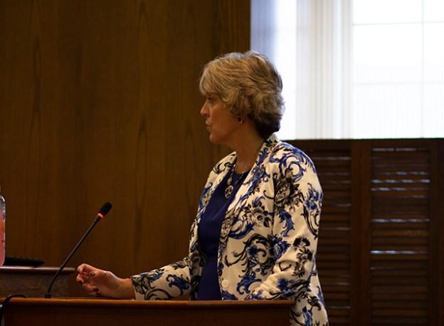 Treasurer Janet Koziel