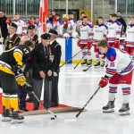 Annual memorial game honouring our veterans