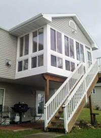 Home Town Restyling Cedar Rapids, Iowa Sunroom Conversion