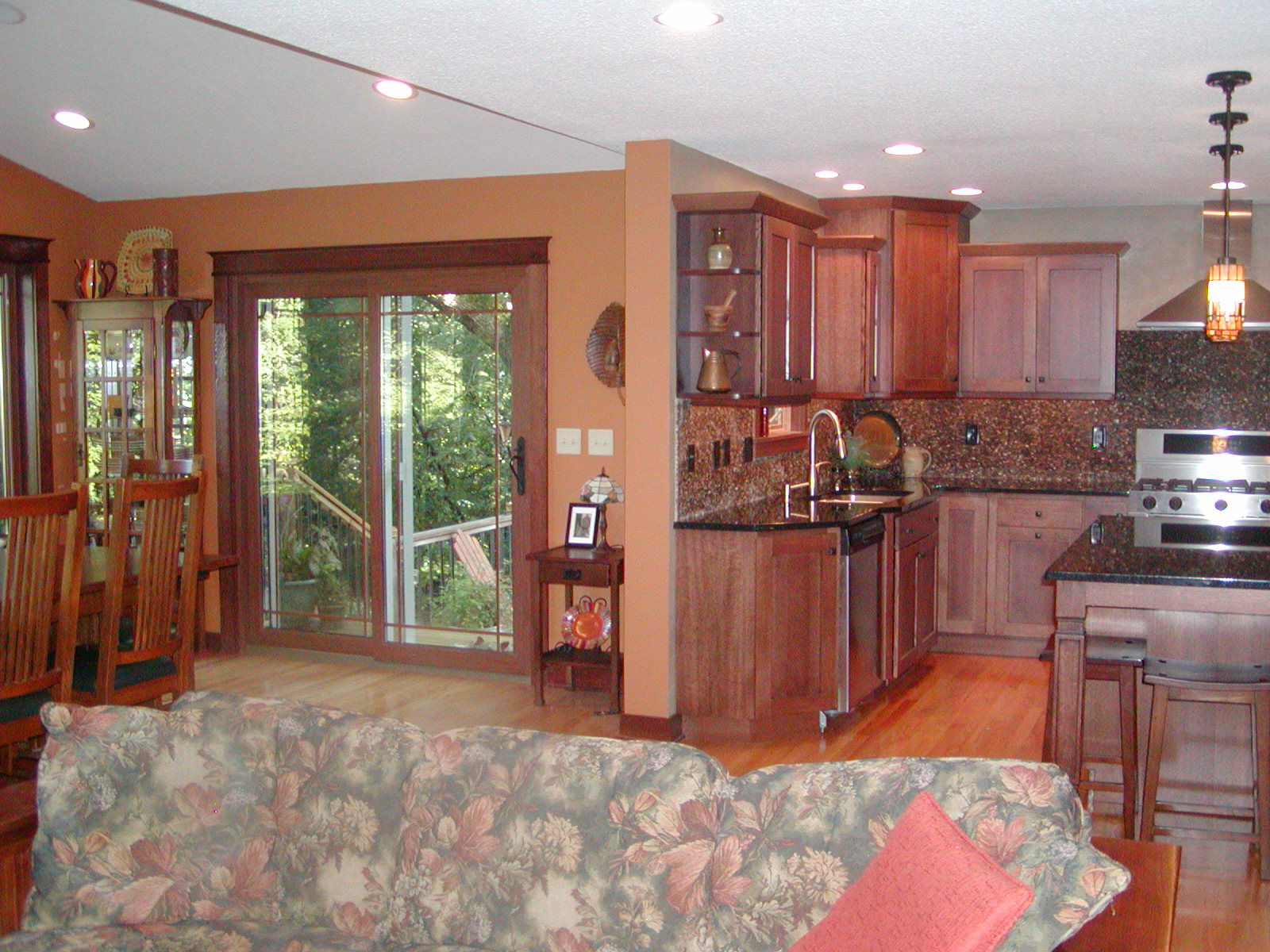 Home Town Restyling Family and Dining Room Addition  Home