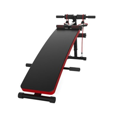 JUFIT Sit-up Bench Best Sit Up Bench With Resistance Bands