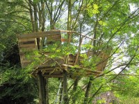 Treehouse and pallets | hometreehome