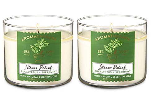 Candle Body Wick Bath Aromatherapy 3 Works
