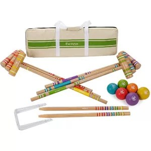 Harvil 6-Player Croquet Set for All Ages