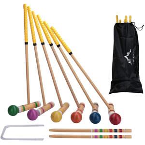 Himal Premium Wooden Six Player Croquet Set