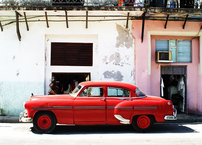 Walltastic Disney Cars Wallpaper Mural Havana Cuba Vintage Old Car Wallpaper Murals By