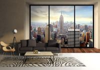 New York skyline penthouse wall mural | Buy at Allwallpapers