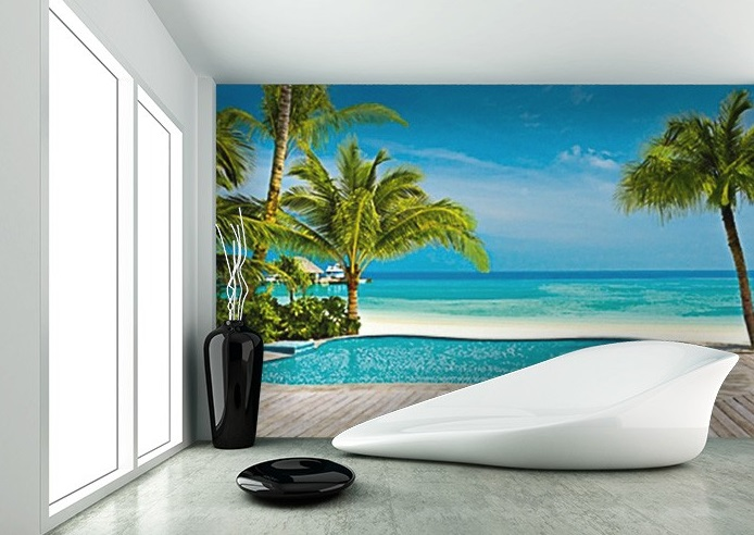 Walltastic Disney Cars Wallpaper Mural Pool On The Beach Wall Mural For Home Walls