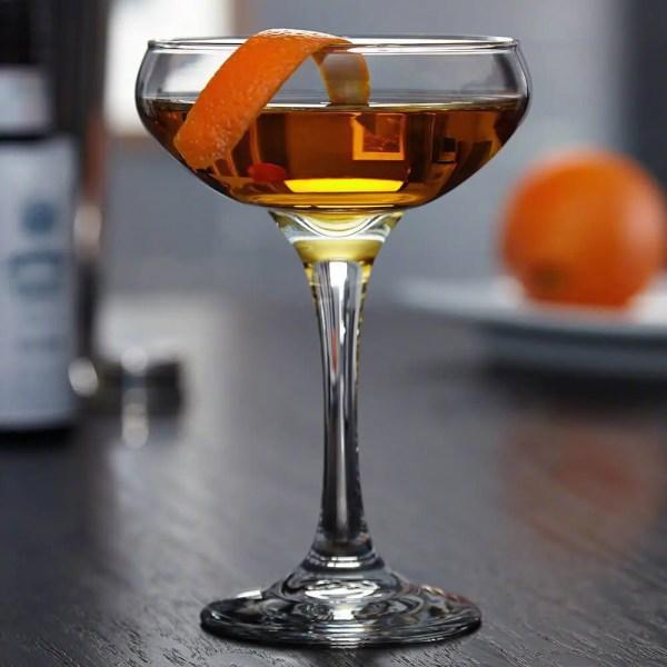 Bourbon Cocktail Coupe Glass