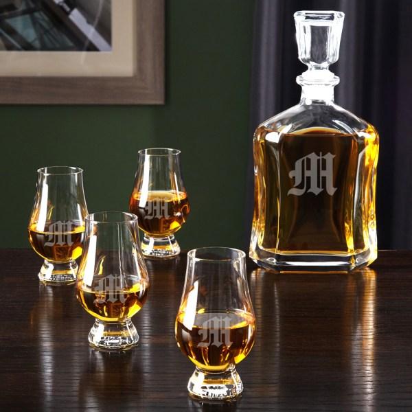 Scotch Whiskey Glasses Personalized