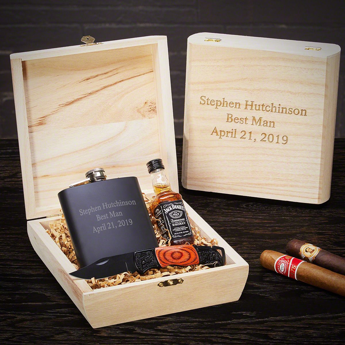 personalized best man gift