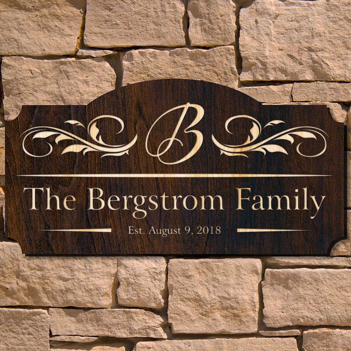 westcott personalized family name