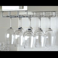 Under Cabinet Wine Glass Rack, Small