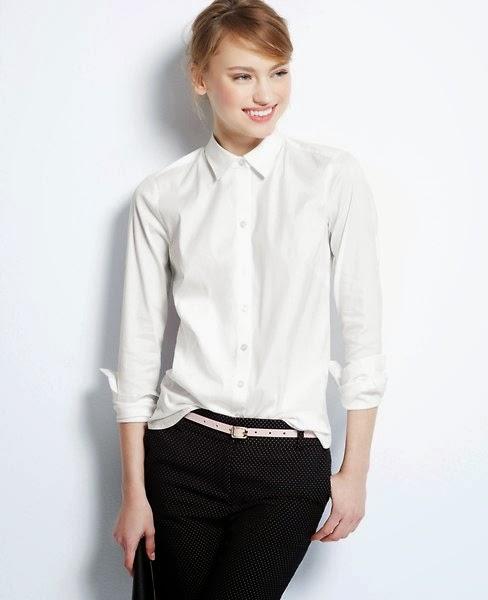 Buzz on Fashion — The Perfect White Shirt